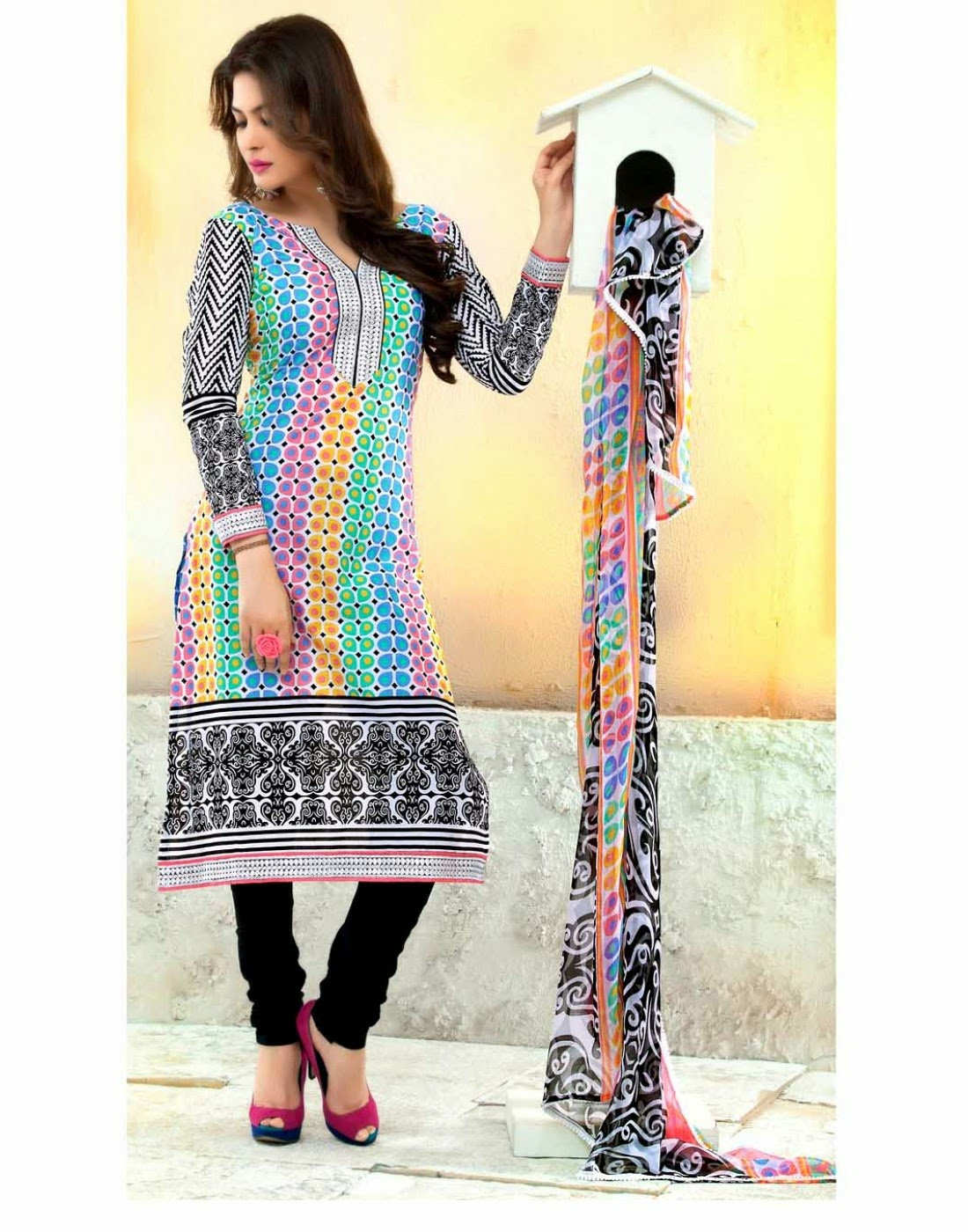 Punjabi Suits Neck Designs Party Wear Design Boutique 2014 ...