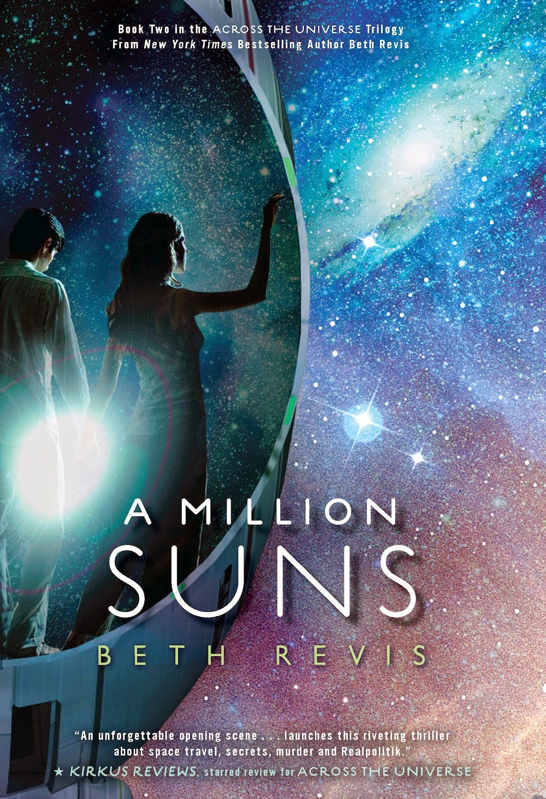 sarah's reviews a million suns beth revis book cover