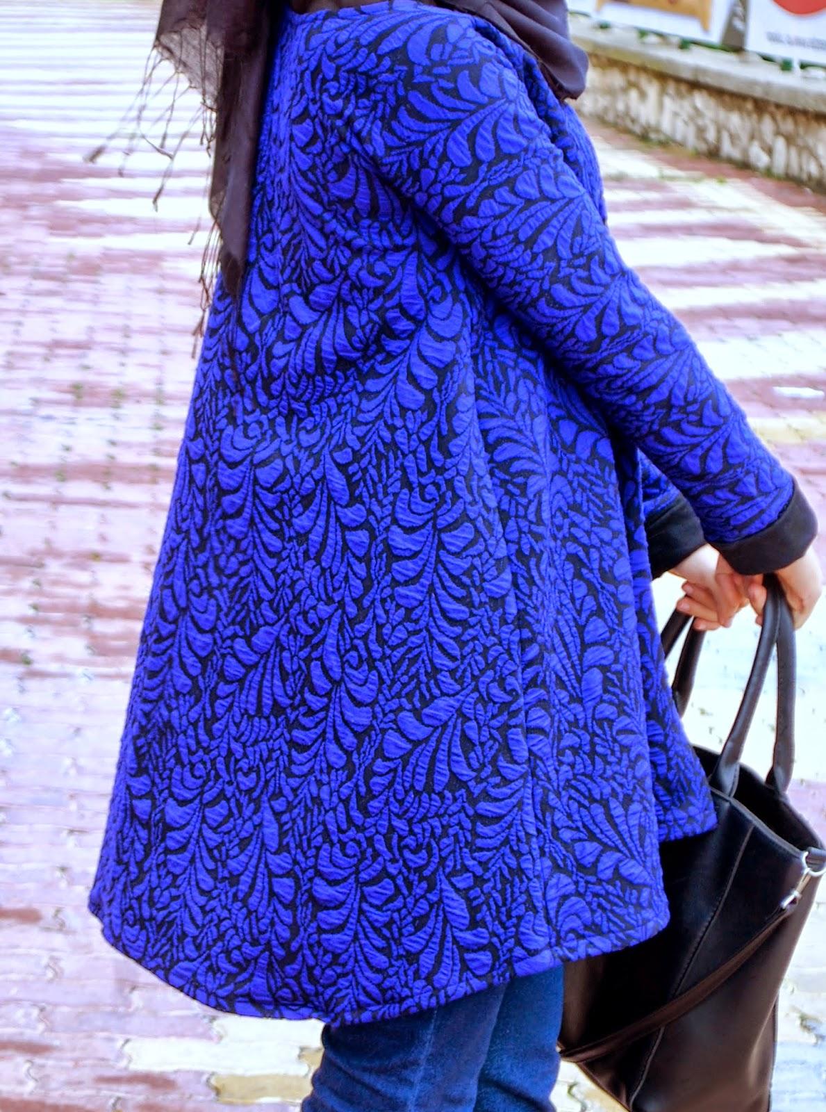 saks mavisi ceket