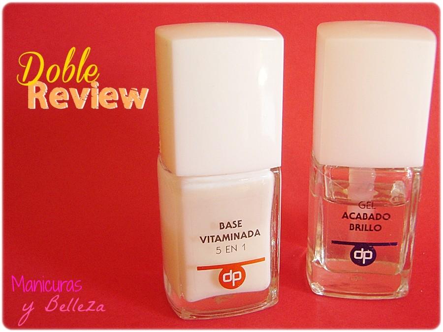 Manicuras y Belleza: A examen... Base vitaminada 5 en 1 y Gel ...