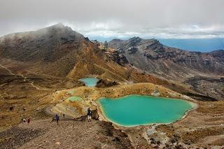 Danau Kawah Hijau Tongariro, Selandia Baru