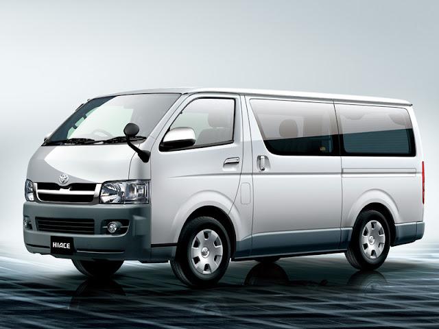 Xe du lịch Toyota Hiace Commuter 16 chỗ