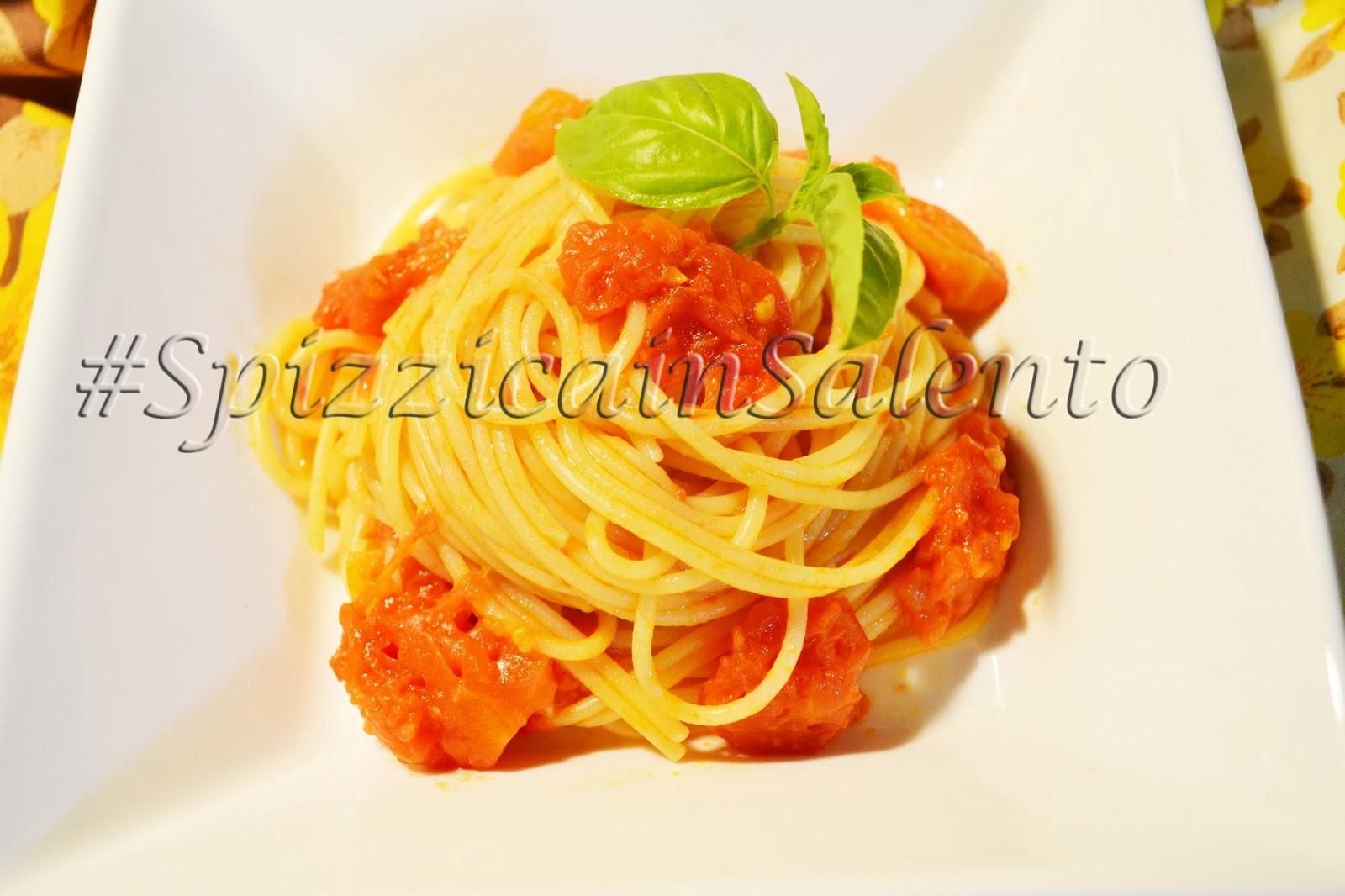 giornata internazionale della cucina italiana idic2014 - spaghetti pomodoro e basilico