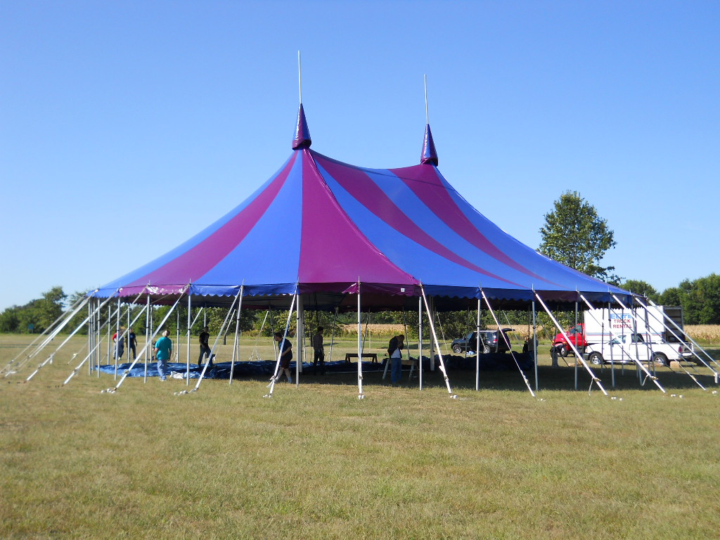 Final Circus tent installed for Testing at Armbruster facility. & Circus Tent on the Way | Armbruster Tent Maker
