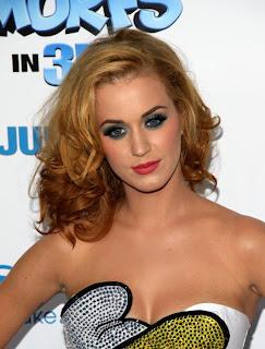 katy perry blonde hairstyles