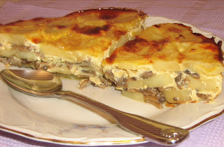 Moussaka with Mushrooms