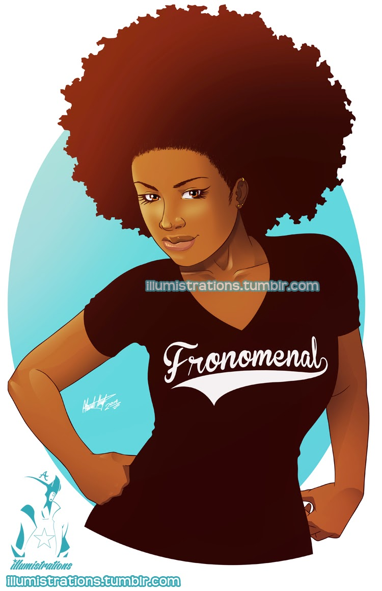 drawing sketch illustration black woman african american natural hairstyle afro fro naturalista image drawing curly kinky fronomenal