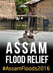 #AssamFloods2016