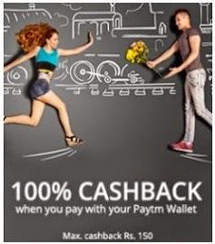 Jabong 100% Cashback (no minimum purchase)