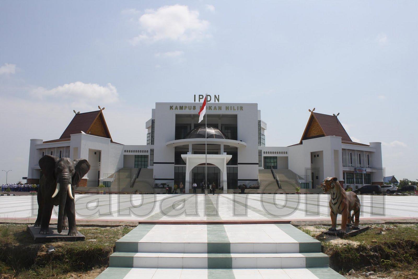 IPDN KAMPUS DAERAH ROKAN HILIR RIAU, INDONESIA