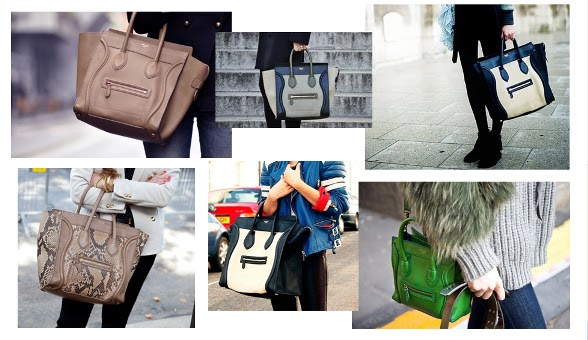 celine bolso luggage