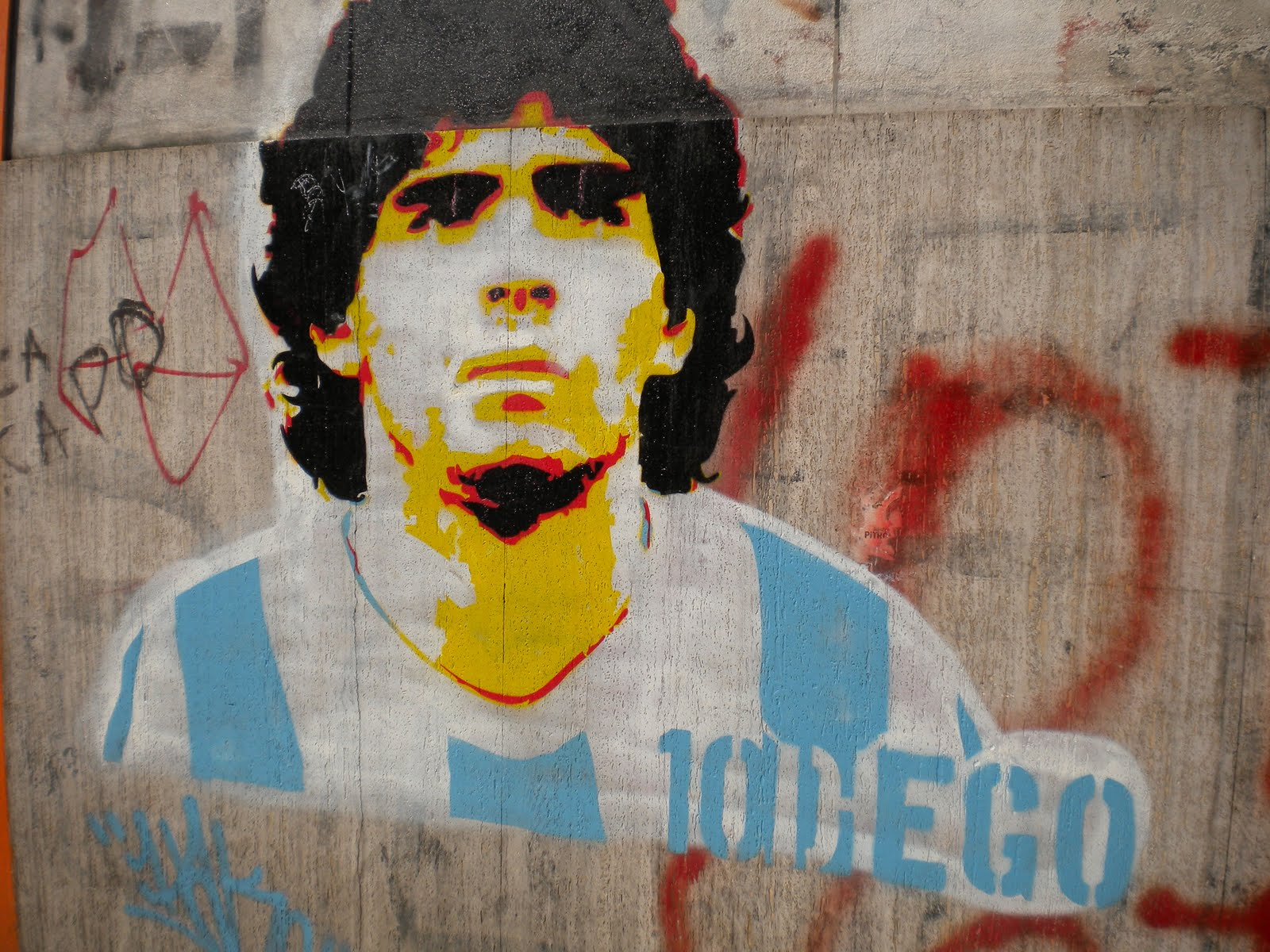 Maradona Boca Juniors Wallpaper