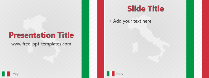italy ppt template