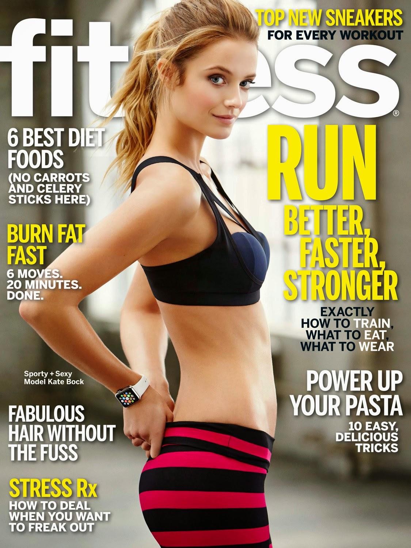 Model @ Kate Bock by Matt Hawthorne for Fitness April 2015