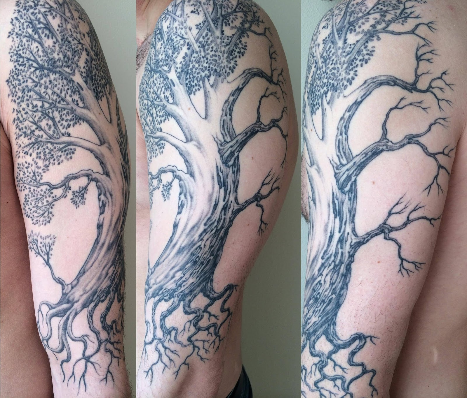 Awesome inks tattoo ideas inspiration and information for Death tree tattoo