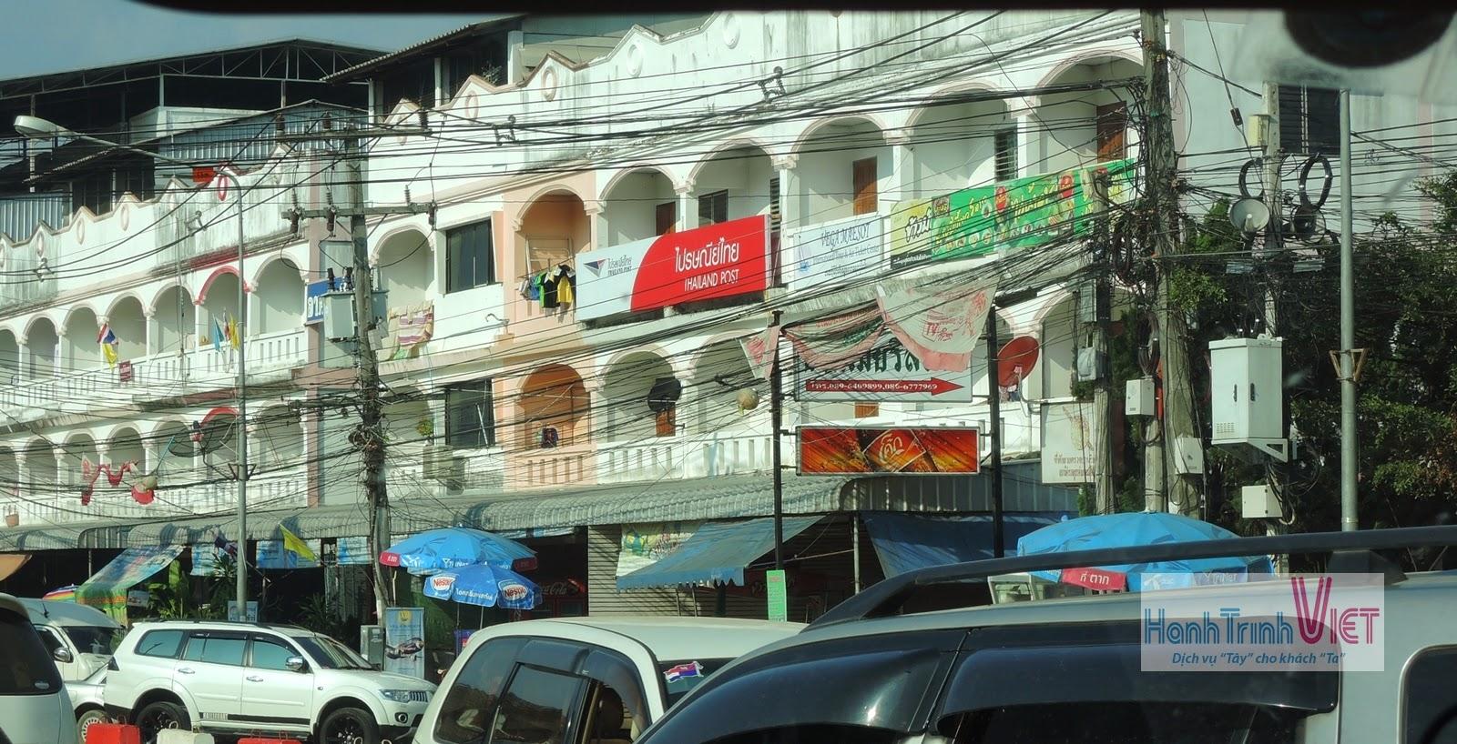 Qua cửa khẩu Mae Sod đi Myanmar