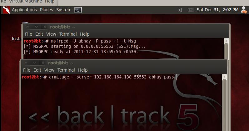 BACKTRACK 5 HACKING ~ Hack The Hacker