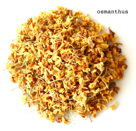 learn about osmanthus flower herbal tea and its potential health benefits on SeasonWithSpice.com