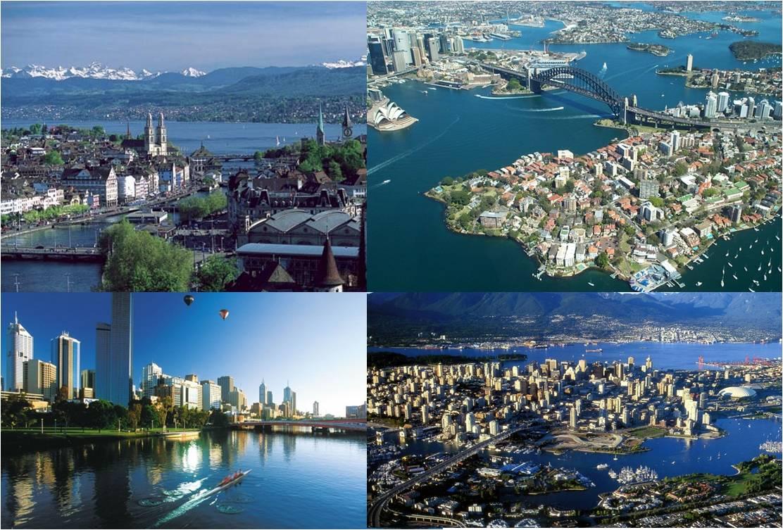 Las mejores ciudades del mundo para vivir s lo s que no - Mejores ciudades espanolas para vivir ...