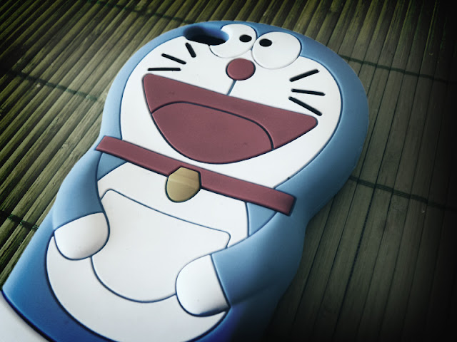 Cartoon Doraemon 3D Silicone Cases Skin Cover