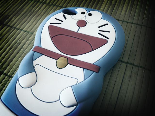 Cartoon Doraemon 3D Silicone Cases Skin Cover