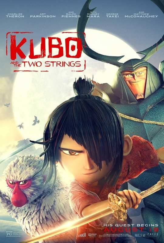Kubo and the Two Strings 2016 720p Esub BlyRay  Dual Audio English Hindi GOPISAHI