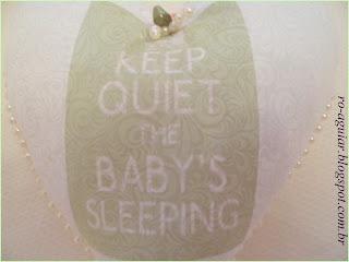 pingente de coração - quarto de bebê
