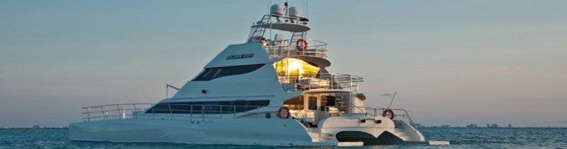 Catamaran Yacht 74 ft 5 cabins