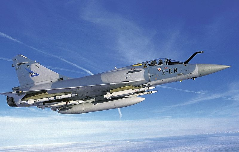 French fighter jet-Dassault Mirage 2000