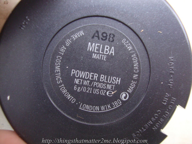 MAC+Melba+Blush+swatch+Review