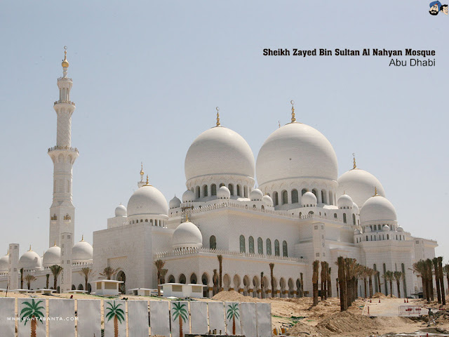 Abu Dhabi Sheik Zayed Mosque Wallpapers