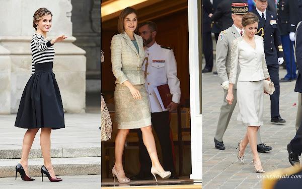 Queen Letizia of Spain 2015