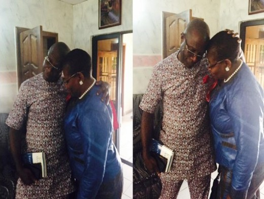 Oby Ezekwesili Photographed In A Romantic Mood With Hubby