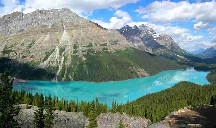 Peyto Lake, Kanada