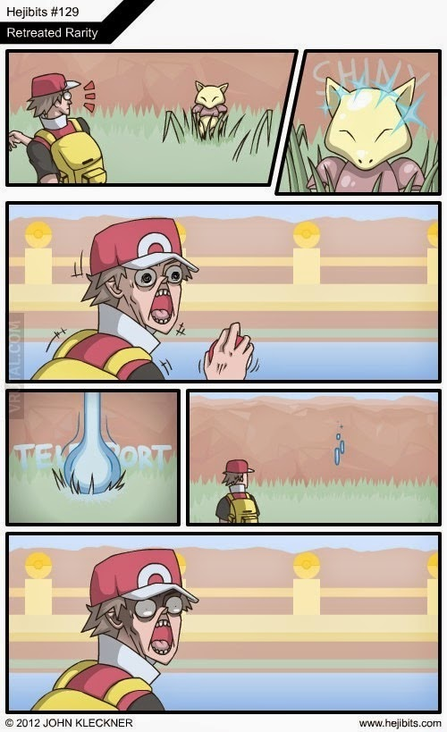 Humor Pokemon: Capturando a Abra...