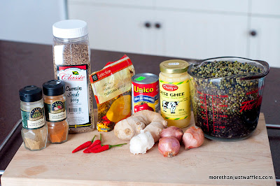 Ingredients for Daal