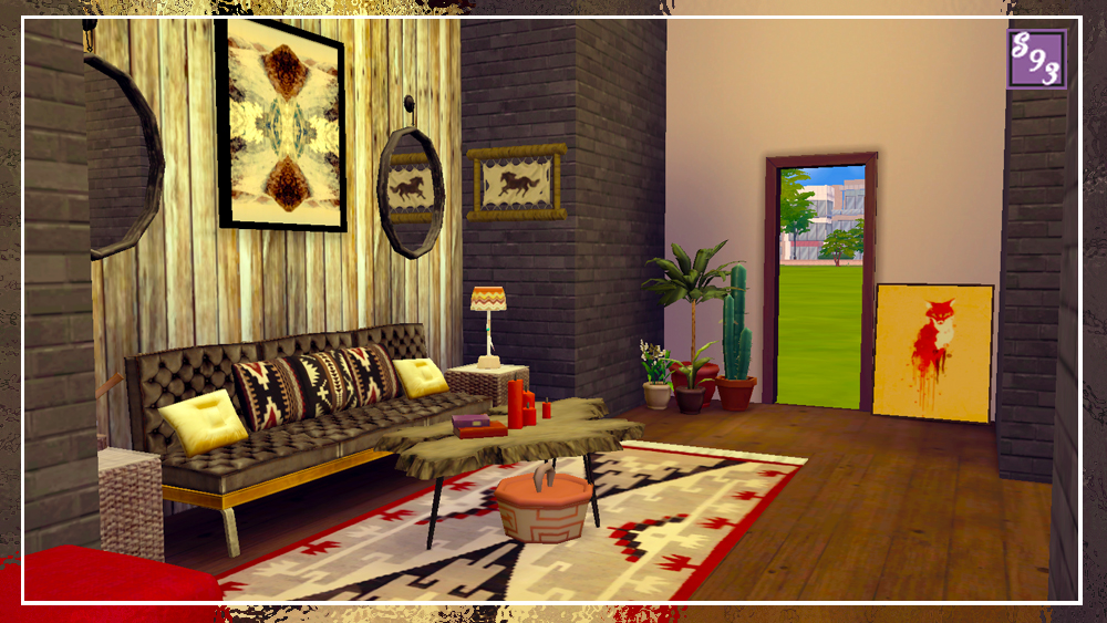 my sims 4 blog southwest living room room by shenice93