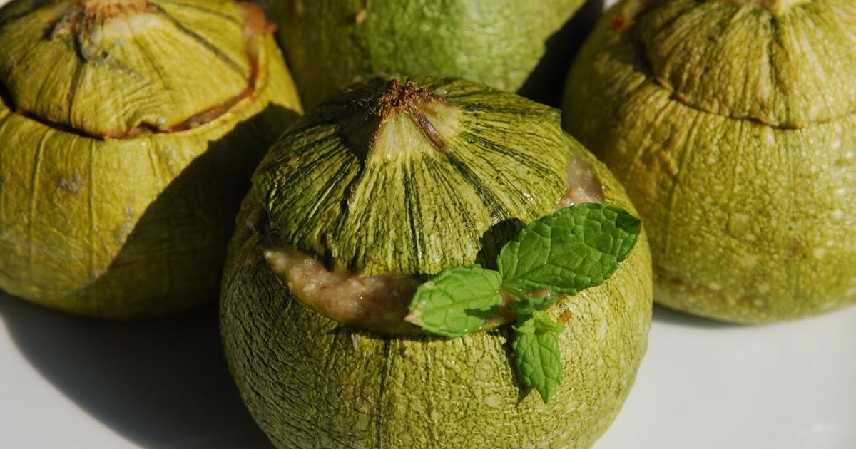 Cioccogala zucchine tonde ripiene for Cucinare zucchine tonde