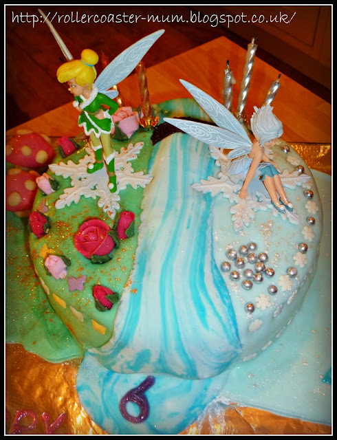 Tinkerbell Secret of the Wings Birthday cake