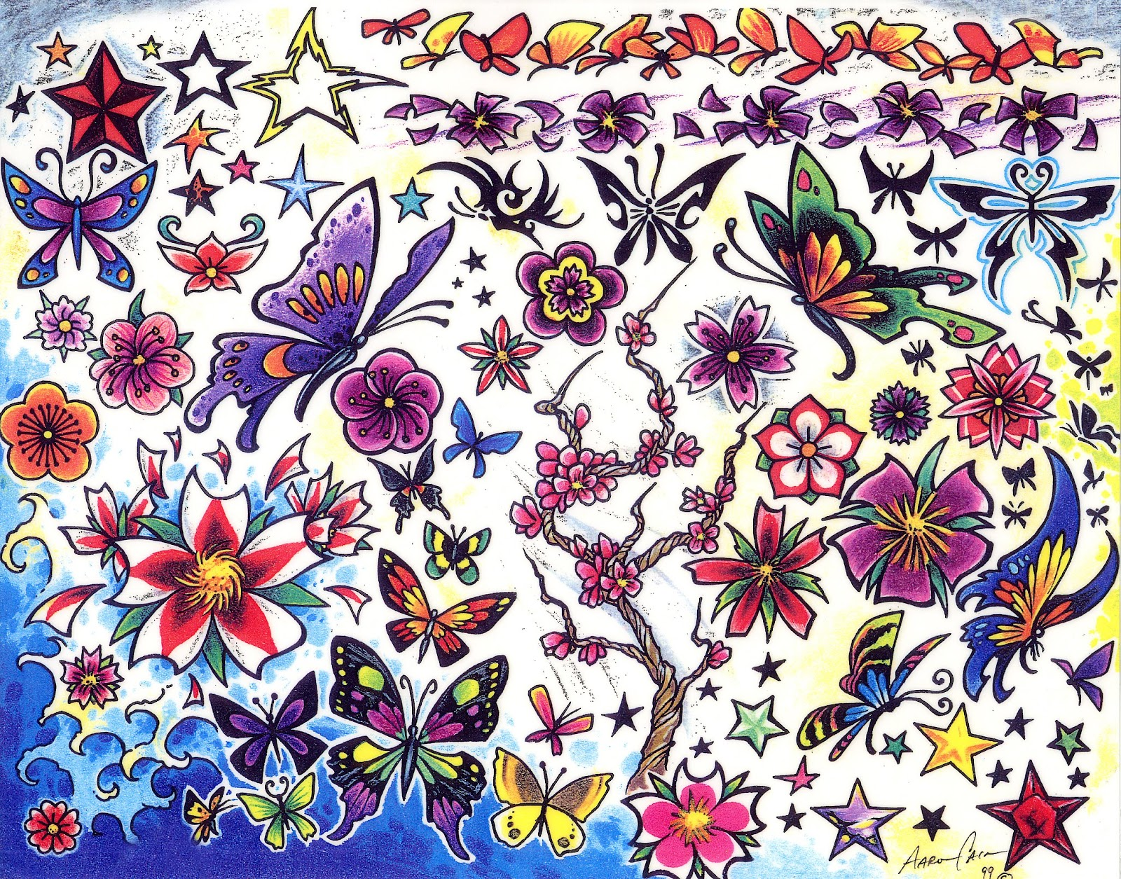 flower-tattoo-gallery-flowers