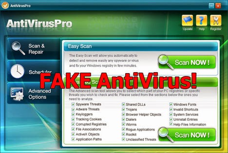 Download Remove FAKE Antivirus