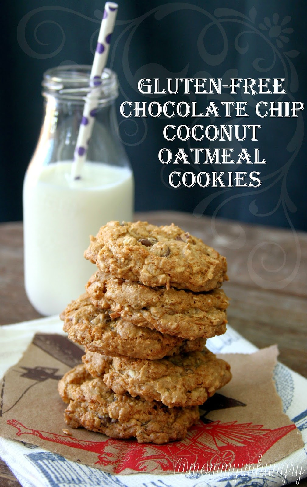MIH Recipe Blog: Gluten-Free Chocolate Chip Coconut Oatmeal Cookies