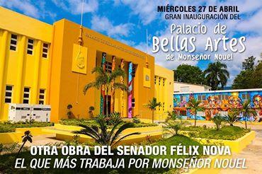 PALACIO BELLAS ARTES DE BONAO