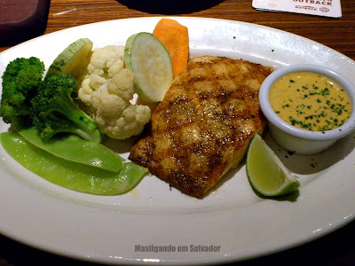 Outback Steakhouse: South America Salmon