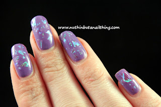 Models Own Splash Collection Swatches Mermaid Tears