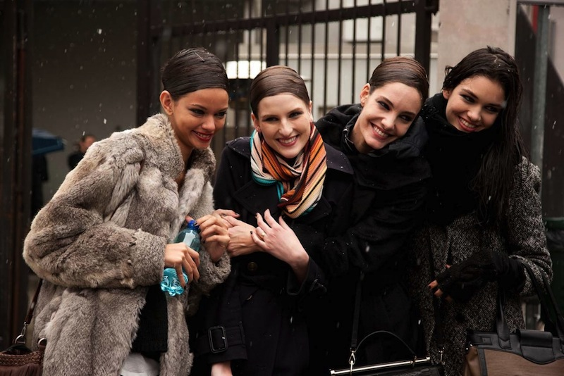 winter, style, street style, PFW, Fashion week, snow