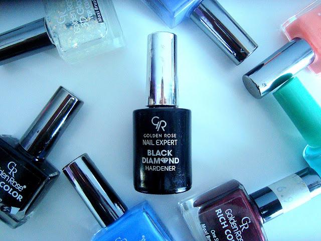 RECENZJA: BLACK DIAMOND HARDENER - ODŻYWKA WZMACNIAJĄCA PAZNOKCIE - GOLDEN ROSE