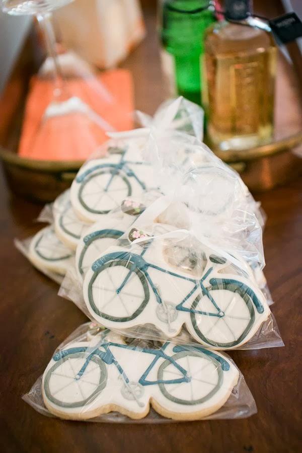 Galletas en forma de bici