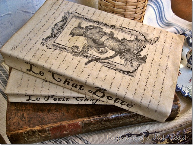 How To Make Old Book Cover : Confessions of a plate addict vintage french fairy tale