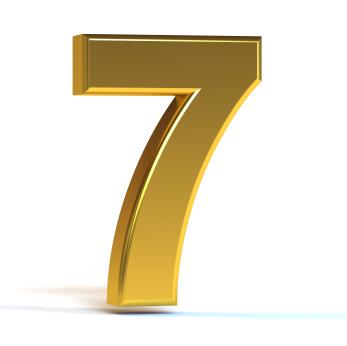 أسرار الرقم سبعة  في القرآن والكون؟